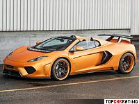 2013 McLaren MP4-12C Spider FAB Design Terso = 343 kph, 680 bhp, 3 sec.