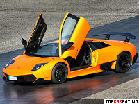 2009 Lamborghini Murcielago LP670-4 SuperVeloce = 342 kph, 670 bhp, 3.2 sec.