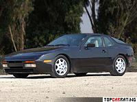 1985 Porsche 944 Turbo = 246 kph, 220 bhp, 6 sec.