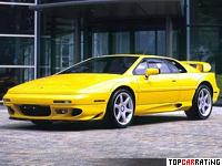 2002 Lotus Esprit V8 = 282 kph, 355 bhp, 4.9 sec.
