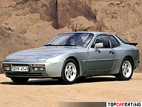 1988 Porsche 944 Turbo S Coupe = 258 kph, 250 bhp, 5.7 sec.