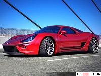 2013 ATS 2500 GT Concept = 300 kph, 520 bhp, 3.3 sec.