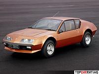 1976 Renault Alpine A310 V6 = 222 kph, 150 bhp, 7.4 sec.