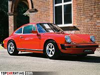 1976 Porsche 911 Carrera 3.0 Coupe (911) = 230 kph, 200 bhp, 6.5 sec.