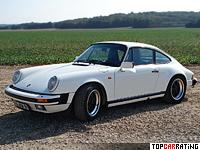 1984 Porsche 911 Carrera 3.2 Coupe (911) = 243 kph, 231 bhp, 5.4 sec.