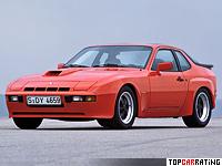 1981 Porsche 924 Carrera GT (937) = 241 kph, 210 bhp, 6.9 sec.