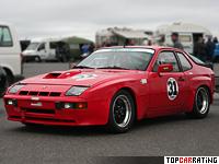 1981 Porsche 924 Carrera GTS Club Sport = 255 kph, 270 bhp, 5.6 sec.