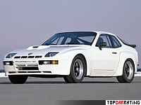 1981 Porsche 924 Carrera GTS (937) = 250 kph, 245 bhp, 6.2 sec.