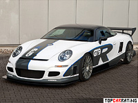 2009 9ff GT9-R Porsche = 414 kph, 1120 bhp, 2.9 sec.