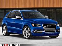 2013 Audi SQ5 TFSI = 250 kph, 354 bhp, 5.3 sec.