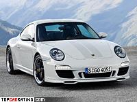 2009 Porsche 911 Sport Classic (997) = 301 kph, 408 bhp, 4.4 sec.
