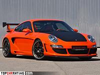2005 Porsche 911 Carrera Gemballa Avalanche GTR 500 EVO = 315 kph, 500 bhp, 3.8 sec.