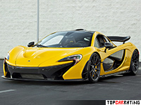 2013 McLaren P1 = 350 kph, 916 bhp, 2.8 sec.
