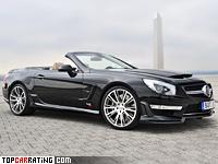 2013 Brabus 800 Roadster = 350 kph, 800 bhp, 3.7 sec.