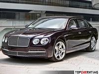 2013 Bentley Flying Spur = 322 kph, 625 bhp, 4.3 sec.