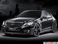 2010 Brabus E V12 Black Baron = 370 kph, 788 bhp, 3.7 sec.