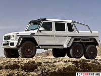 2013 Mercedes-Benz G 63 AMG 6x6 (W463) = 160 kph, 544 bhp, 9 sec.