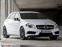 2013 Mercedes-Benz A 45 AMG (W176) = 250 kph, 360 bhp, 4.6 sec.