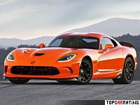 2014 Dodge SRT Viper TA = 334 kph, 649 bhp, 3.4 sec.