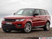 2013 Land Rover Range Rover Sport V8 = 250 kph, 510 bhp, 5.3 sec.