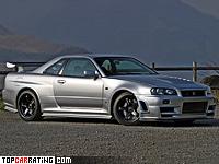 2005 Nissan Skyline GT-R Nismo Z-Tune (R34) = 290 kph, 500 bhp, 4 sec.