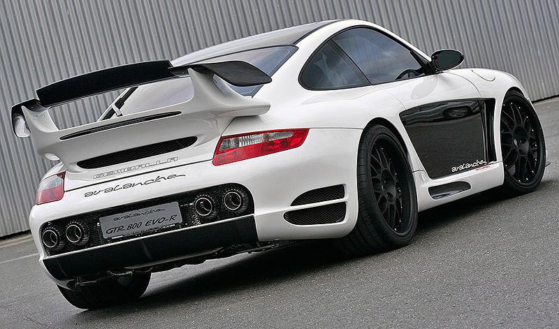 2008 Porsche 911 Turbo Gemballa Avalanche Gtr 800 Evo R