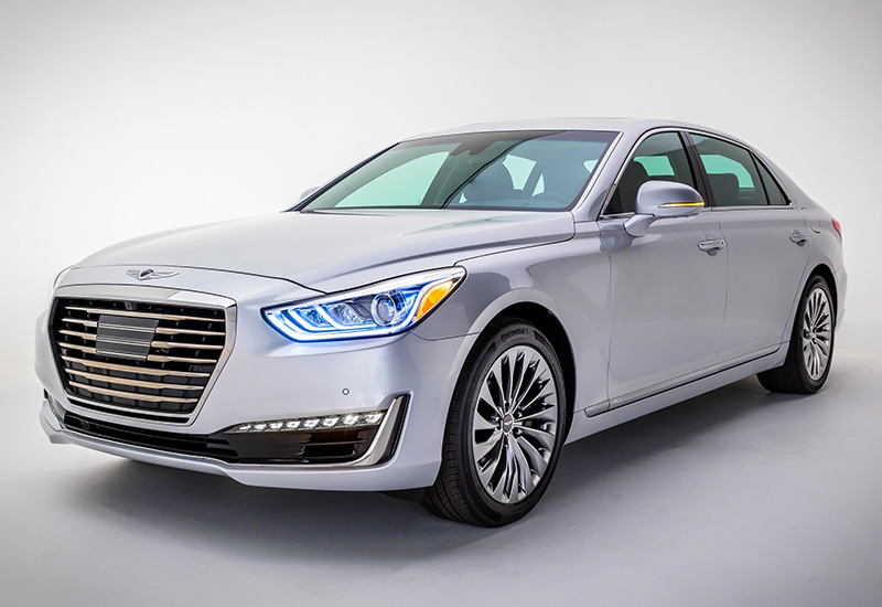 2017 genesis g90 specifications photo price information rating. Black Bedroom Furniture Sets. Home Design Ideas