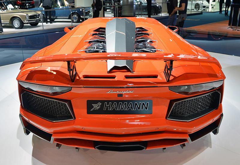 2013 Lamborghini Aventador LP760-4 Hamann Nervudo