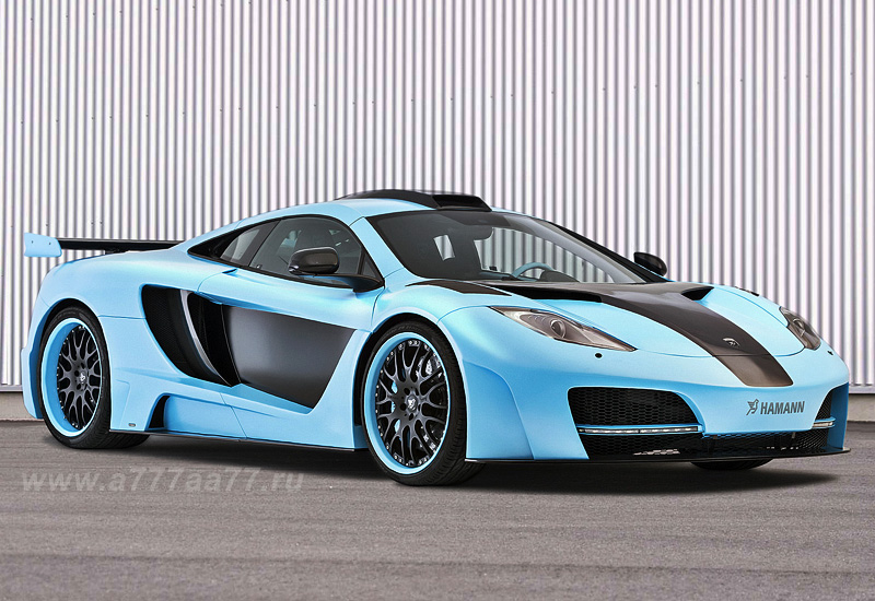 2013 mclaren mp4-12c hamann memor blue edition - specifications
