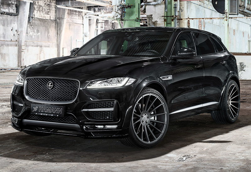 2017 jaguar f pace s widebody hamann specifications photo price information rating. Black Bedroom Furniture Sets. Home Design Ideas