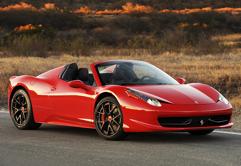 Amazing 2013 Ferrari 458 Spider Hennessey HPE700 Twin Turbo