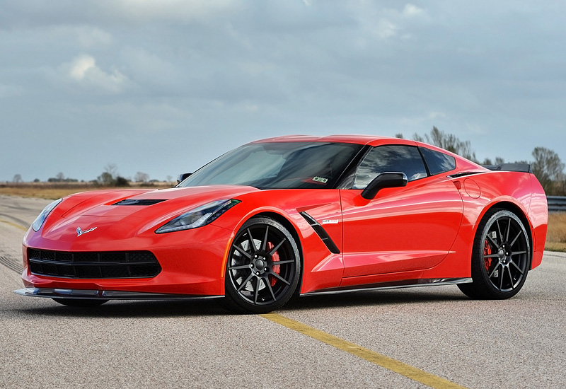 2014 Chevrolet Corvette Stingray Hennessey HPE700 Twin Turbo