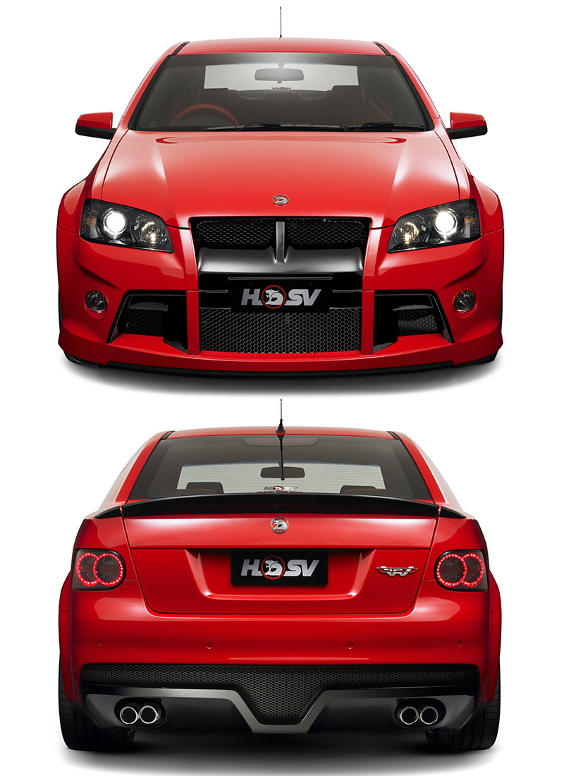 2009 holden commodore hsv w427 ve specifications