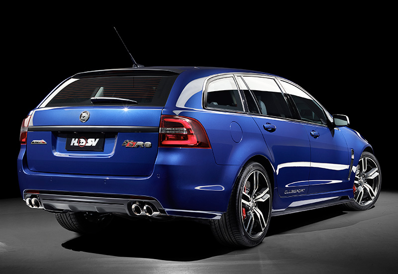 holden commodore hsv clubsport  tourer vfii specifications photo price information