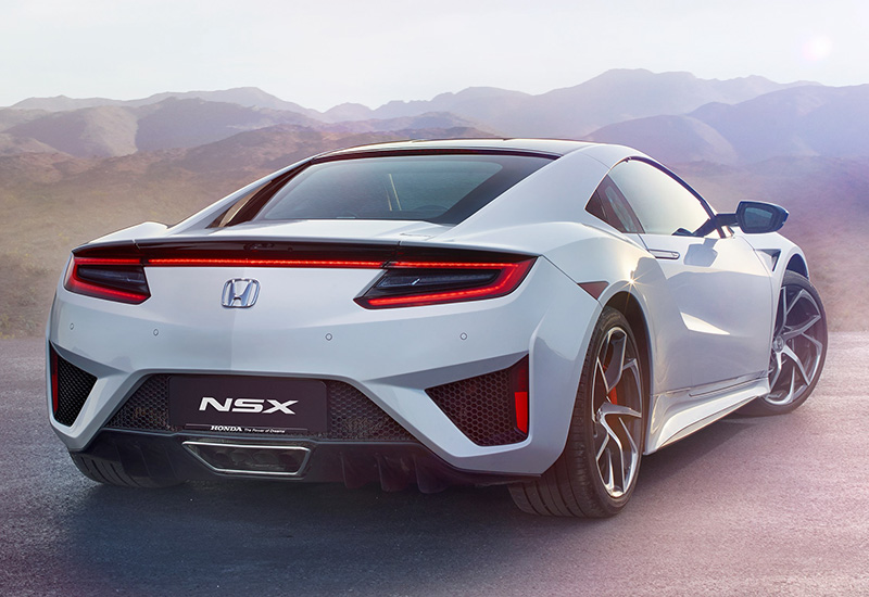 2016 Honda NSX  specifications photo price information rating