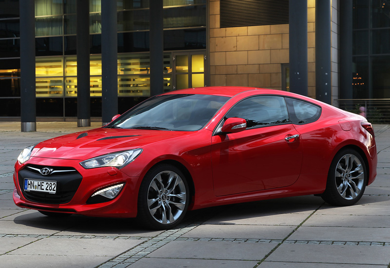 2012 Hyundai Genesis Coupe 3.8 V6 - specifications, photo ...