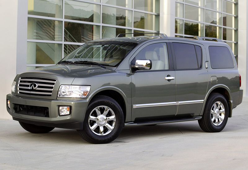 2004 infiniti qx56 specifications photo price. Black Bedroom Furniture Sets. Home Design Ideas