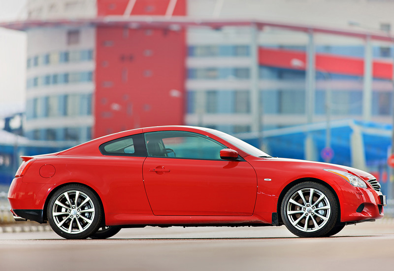 Infiniti G37S 0 60 >> 2007 Infiniti G37S Coupe - specifications, photo, price, information, rating