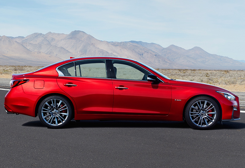 2018 Infiniti Q50S Red Sport 400 - specifications, photo ...