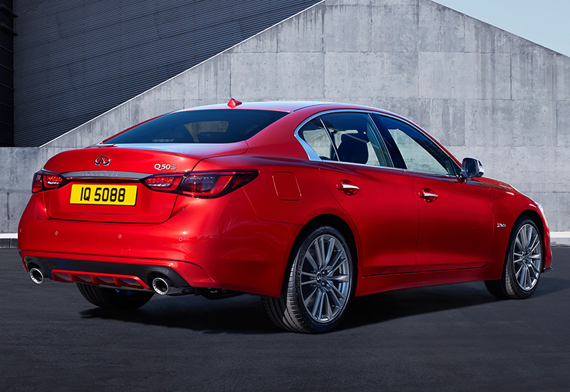 infiniti qs red sport  specifications photo price information rating