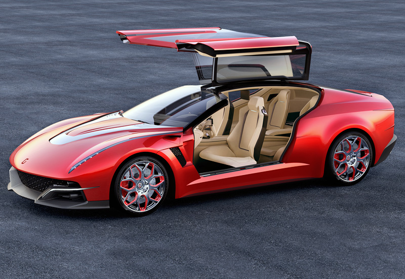 2012 Italdesign Giugiaro Brivido Concept Specifications