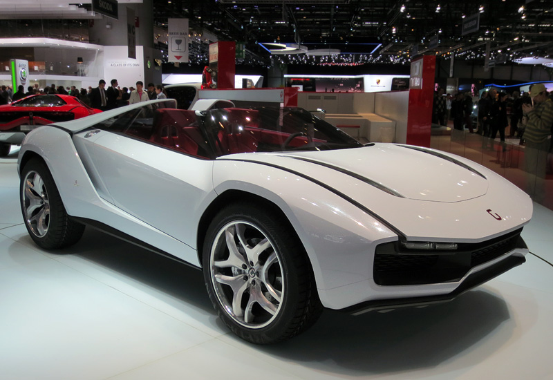 2013 Italdesign Giugiaro Parcour Xgt Roadster Specifications