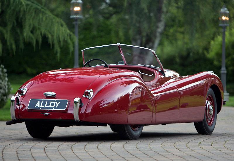1948 Jaguar Xk120 Alloy Roadster Specifications Photo