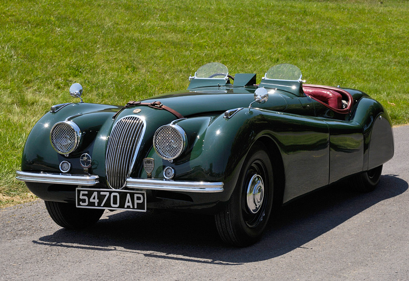 100 Kph To Mph >> 1948 Jaguar XK120 Alloy Roadster - specifications, photo, price, information, rating