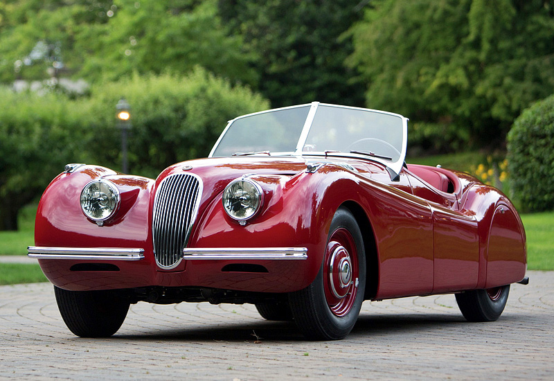 1948 Jaguar Xk120 Alloy Roadster Specifications Photo