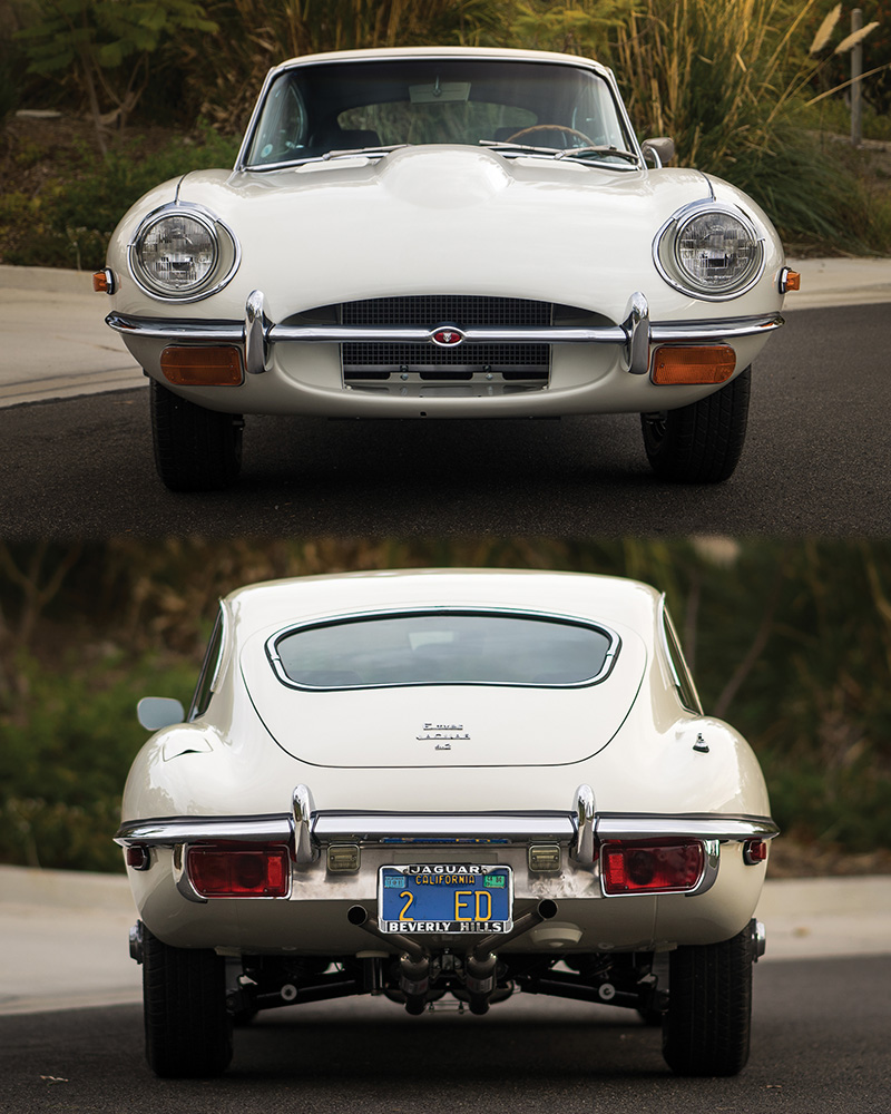 1966 Jaguar Xke Convertible: 1968 Jaguar E-Type Fixed-Head Coupe (S2)