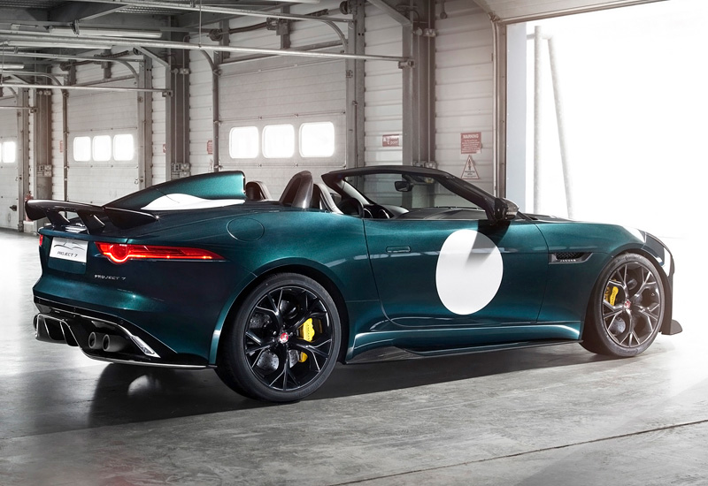 2014 Jaguar F-Type Project 7 - specifications, photo ...