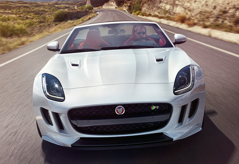 2016 jaguar f type r awd convertible specifications photo price information rating. Black Bedroom Furniture Sets. Home Design Ideas