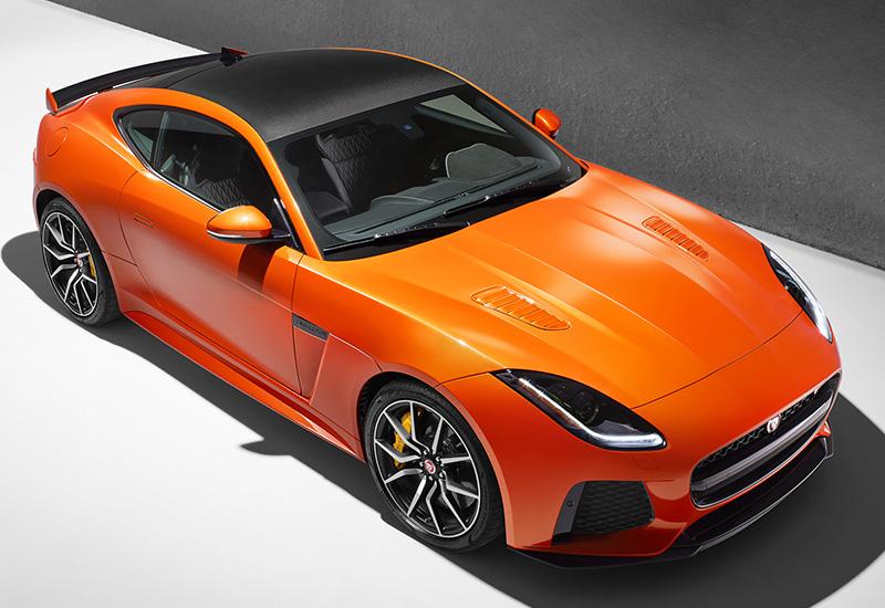 2017 jaguar f type svr coupe specifications photo price information rating. Black Bedroom Furniture Sets. Home Design Ideas