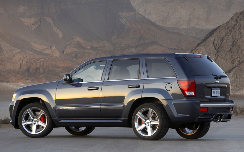 200 Kph To Mph >> 2006 Jeep Grand Cherokee SRT8 (WK) - specifications, photo ...
